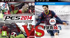 Comparatif entre FIFA 14 et PES 2014: quel est le meilleur cette année ?