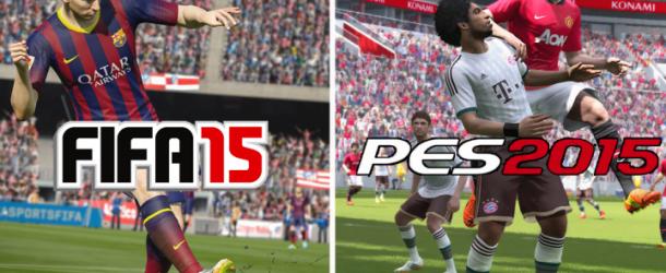 Comparatif PES 2015 vs FIFA 15: quel est le meilleur cette année ?